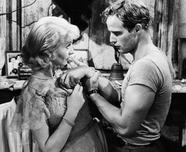 Vivien Leigh e Marlon Brando