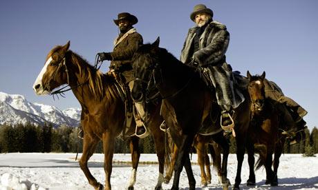 Neve: uma das muitas subversões do western que Tarantino faz em Django Livre