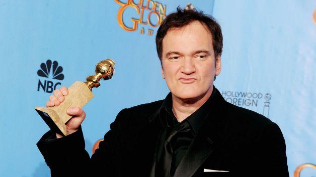 """""""O"""" diretor: Tarantino recebe o Globo de Ouro pelo roteiro de Django Livre"""