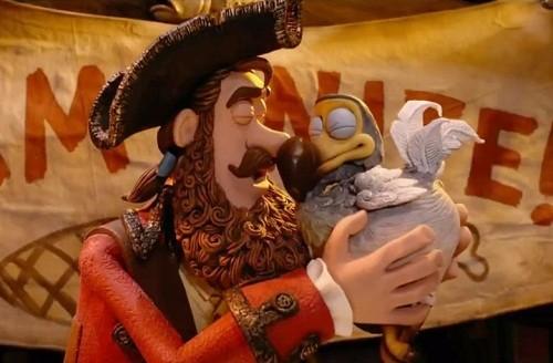 Capitão Pirata e sua querida Dodô