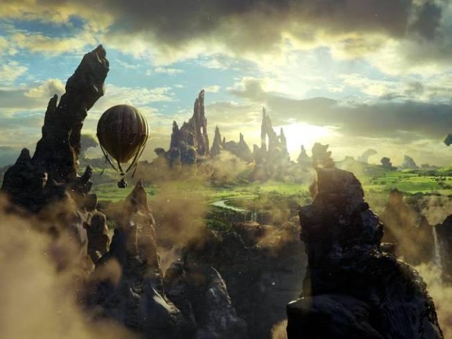 Oz - Mágico e Poderoso - Cena 3