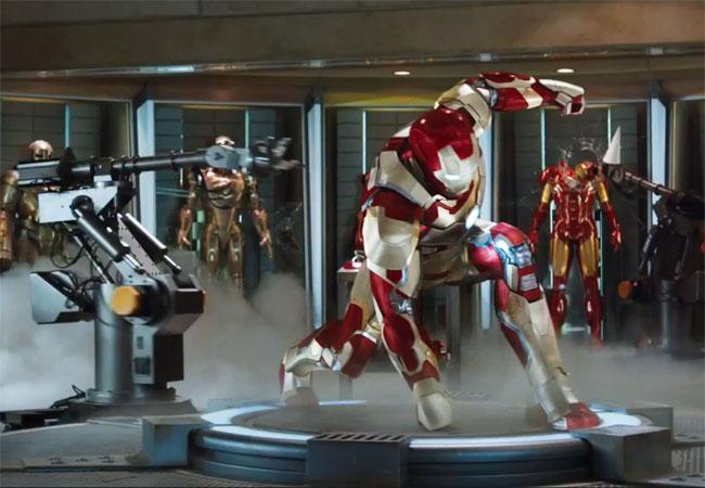 Homem de Ferro 3 - Cena 4