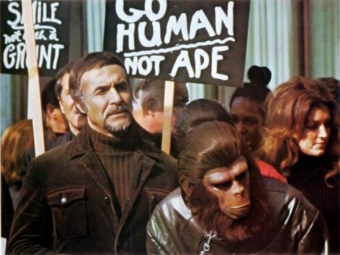 A Conquista do Planeta dos Macacos - Cena 3