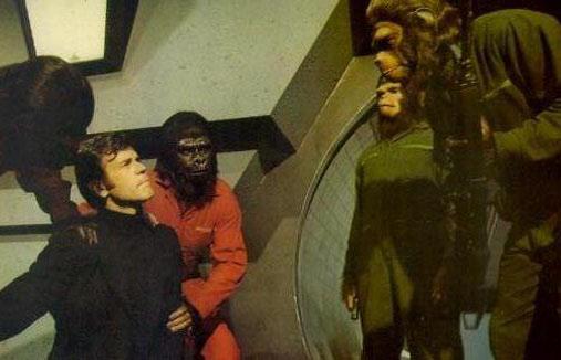 A Conquista do Planeta dos Macacos - Cena