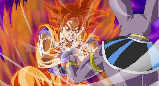 Dragon Ball Z  - A Batalha dos Deuses - Cena 2