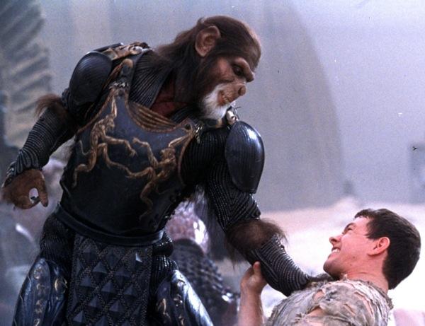Planeta dos Macacos 2001 - Cena 4