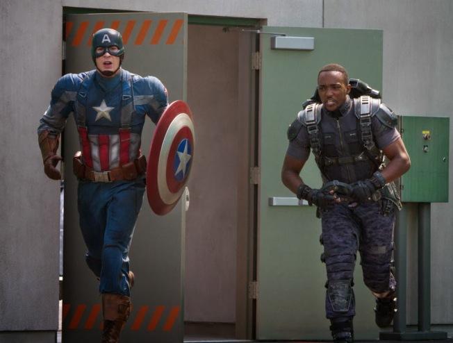 Capitão América 2 - O Soldado Invernal - Cena 3