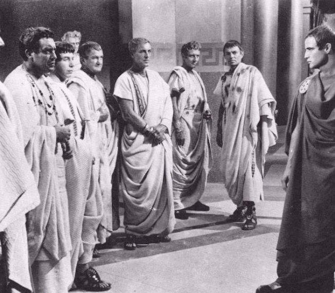 Júlio César - Cena