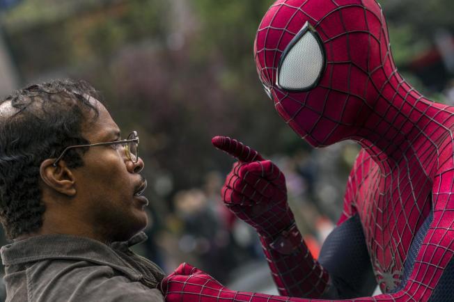 O Espetacular Homem-Aranha 2 - A Ameça de Electro - Cena