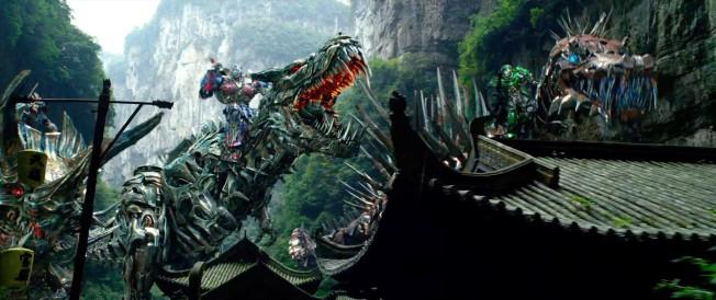 Transformers - A Era da Extinção - Cena