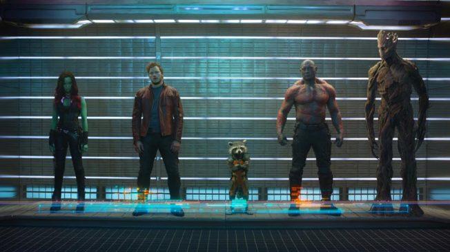 Guardiões da Galáxia - Cena