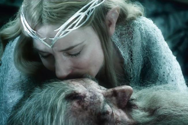 O Hobbit - A Batalha dos Cinco Exércitos - Cena 3