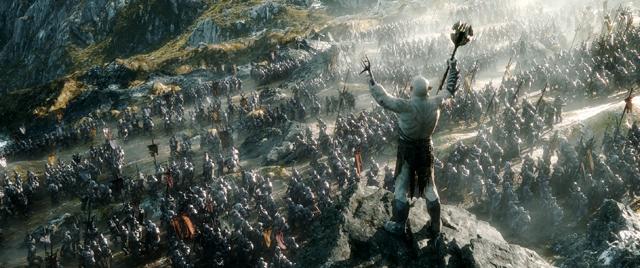O Hobbit - A Batalha dos Cinco Exércitos - Cena 6