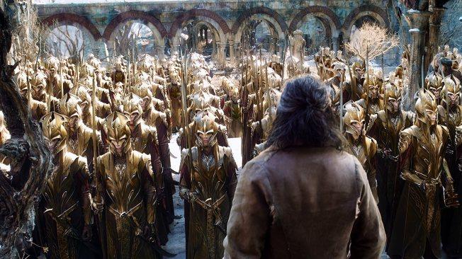 O Hobbit - A Batalha dos Cinco Exércitos - Cena