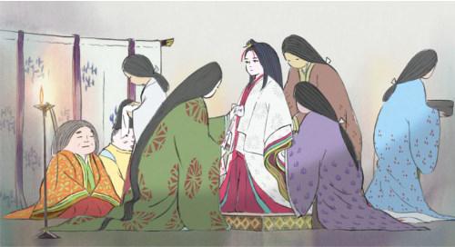 O Conto da Princesa Kaguya - Cena 5