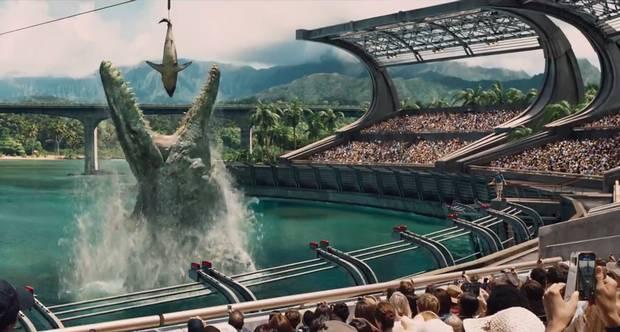 Jurassic World - O Mundo dos Dinossauros - Cena 2