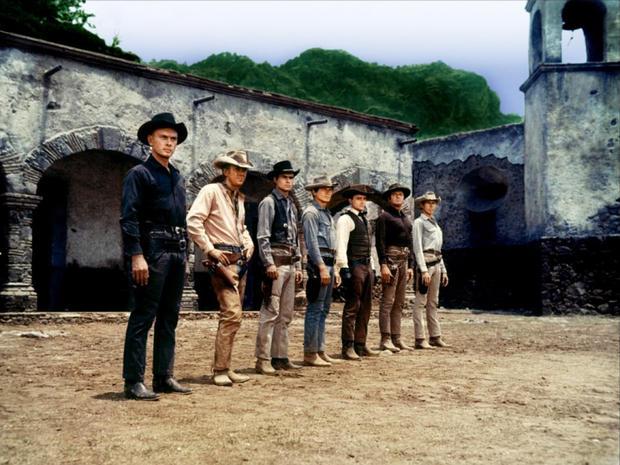 Sete Homens e um Destino - Cena 5