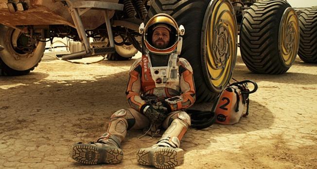 Perdido em Marte - Cena