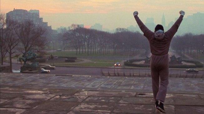 Rocky - Um Lutador - Cena