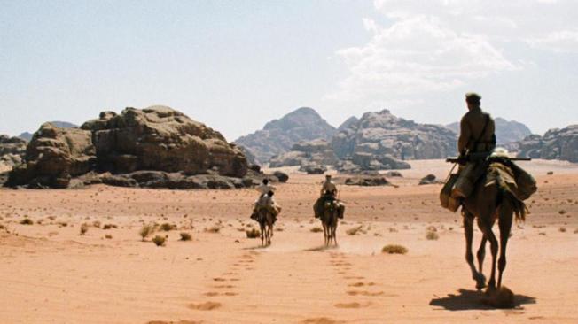 O Lobo do Deserto - Cena 3
