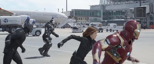 Capitão América - Guerra Civil - Cena 5