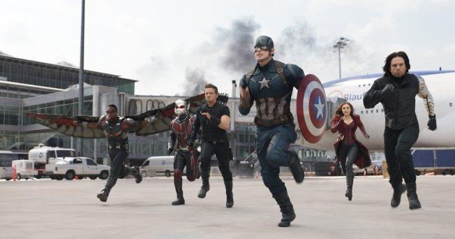 Capitão América - Guerra Civil - Cena 6