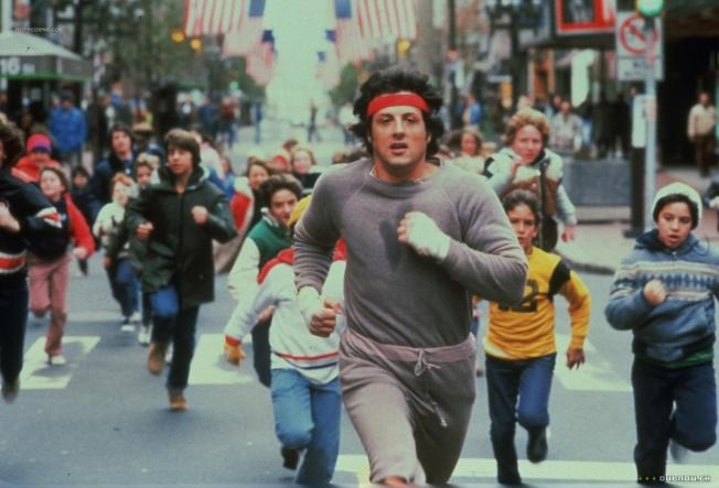 Rocky II - A Revanche - Cena 2