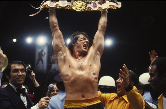 Rocky II - A Revanche - Cena
