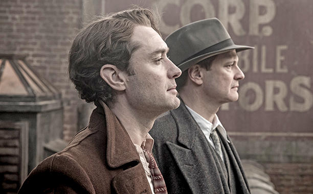 Genius (2016) Jude Law and Colin Firth